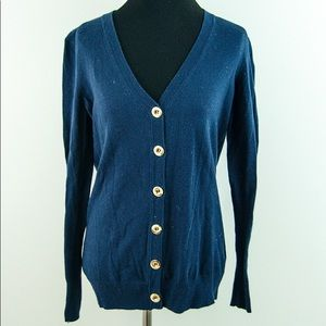 C. Wonder Navy Blue Long Sleeve Cardigan Sweater S